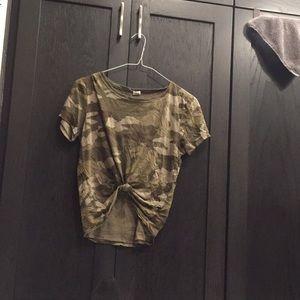 Camo shirt